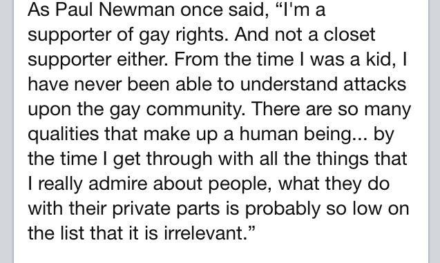 A Paul Newman