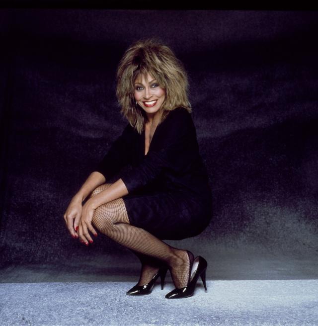 01/01/1985. Close Up Tina Turner